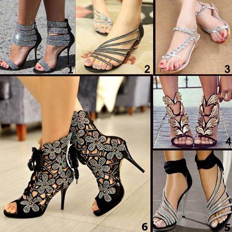 shinning sandals